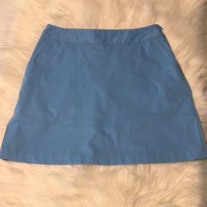 Adidas Light blue golf/tennis skort Size 6 EUC